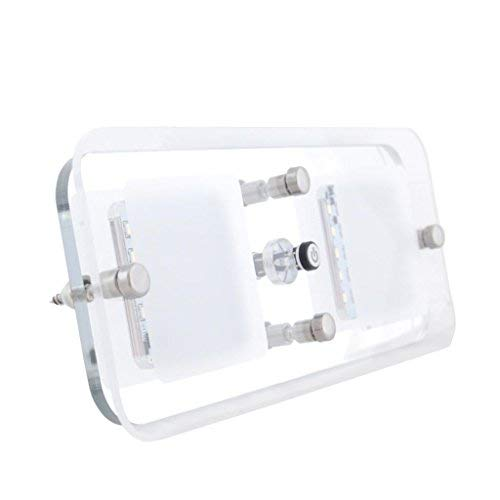 Dream Lighting Caravan Interior Lights with Crystal Lens 4 Mode Setting with Programmed Switch Cool White