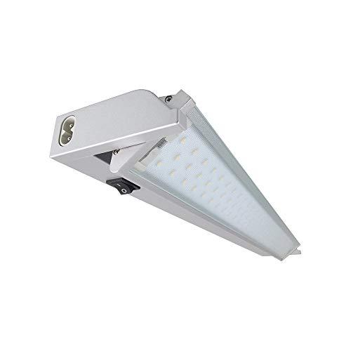 Lampenlux Led Unterbauleuchte Ajax Küchenlampe mit Stromkabel 15W 230V mit Farbwechsel