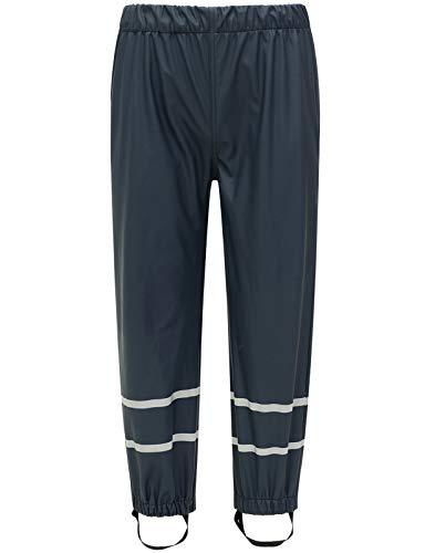 BenBoy Pantaloni Impermeabili Pioggia Bambino Trekking Traspirante Pantaloni di Fango Abbigliamento Pioggia per Ragazza Ragazzo YK3221H-Navy Blue-80