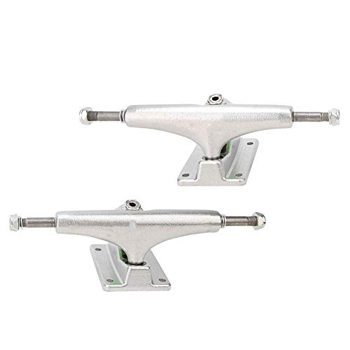 Indy Hollow Stage 11 Silver Ano Purple Standard Skateboard Trucks Argent Violet 144 mm