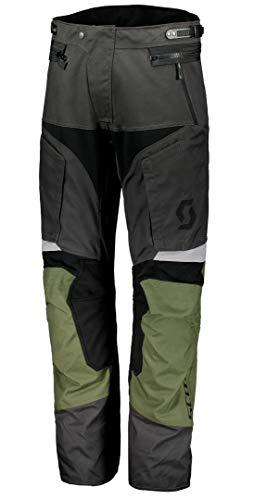 Scott Dualraid DP Motorrad Hose grau/grün 2019: Größe: XL (52/54)