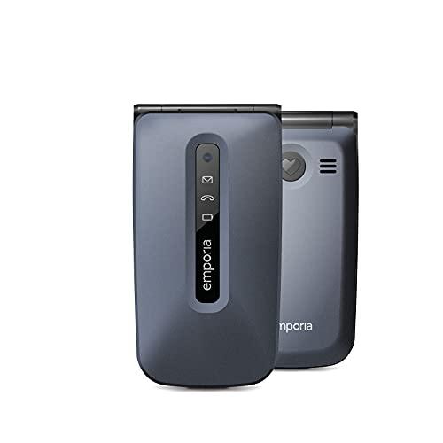 Emporia Active glam 4G, 2.31 Zoll, 2 MP Hauptkamera, 4G/LTE, 1400 mAh, Schwarz