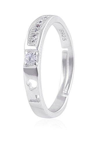 Fasherati Love Forever Crystal Rings for Girls