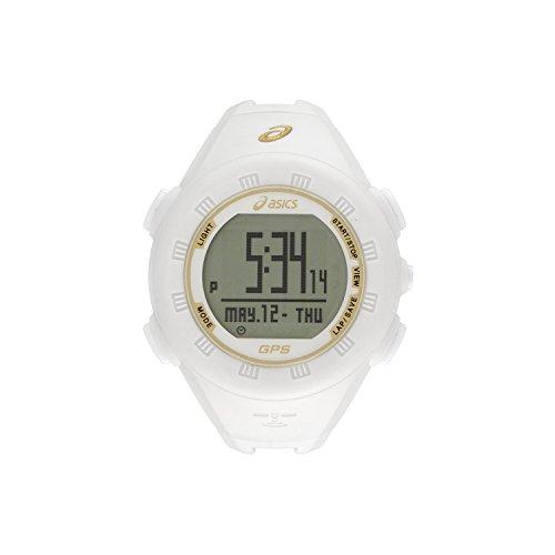 ASICS GPS Watch {}{} White & Gold