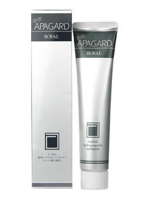Apagard Tooth Polish Royal 135g toothpaste, Direct from Japan (japan import)