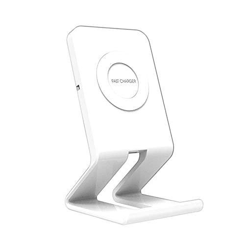 Cargador inalámbrico Qi con Soporte de Carga inalámbrico de 10W 7.5W para Galaxy S9, S9 +, S8, S7 y iPhone 8 X XS MR Cargador inalámbrico