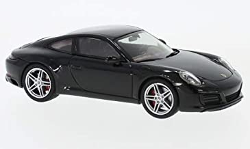 Porsche 911 (991/2) Carrera, Black, 0, Model Car,, Herpa 1:43