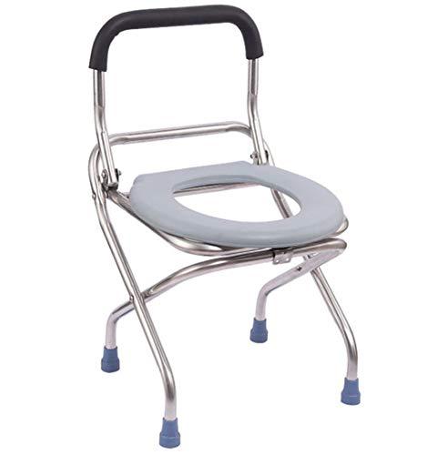 G-LXYZBQSHYP Toiletbril, draagbaar, inklapbaar, comfortabele service, hygiënisch, voor volwassenen, nachtkastje, Potty Chair