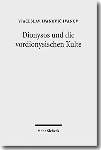 Dionysos und die vordionysischen Kulte