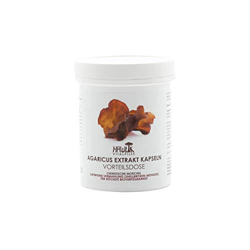 Hawlik Vitalpilze - Auricularia Extrakt - 240 Kapseln - 300mg Extrakt - 40mg Acerola Extrakt - Shellbroken