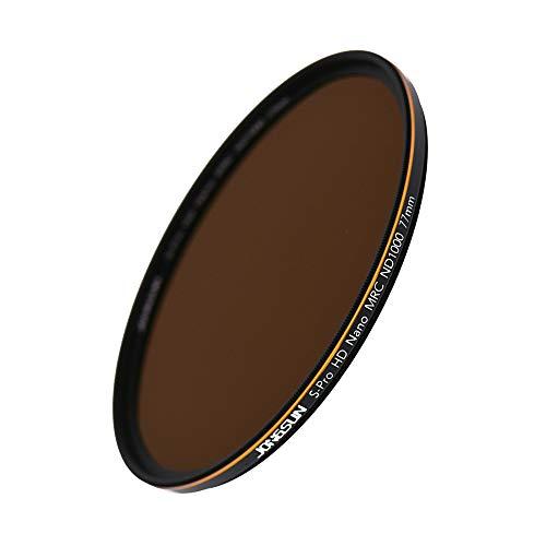 JONGSUN ND1000 Filtro ND 77mm, S-PRO HD Filtro Densità Neutra, 18-Strati Multistrato, Vetro Ottico Schott B270, ND1000 (3.0) 10-Stop