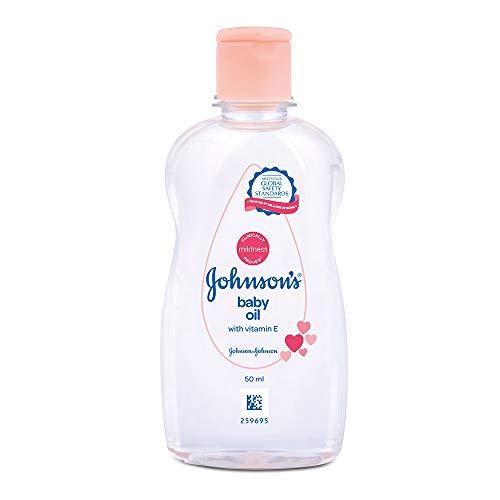 Johnson's Baby Oil with Vitamin E (500ml)