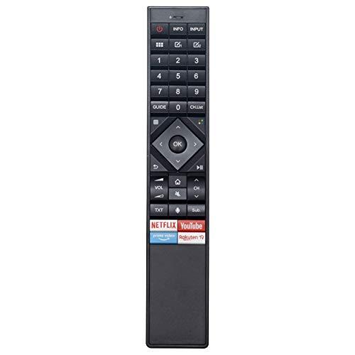 VINABTY ERF3A70 Control Remoto de Repuesto para Hisense 4K UHD Smart TV H50U7B H55U7B H65U7B HE55A7000EUWTS HE50A7000EUWTS HE65A7000EUWTS
