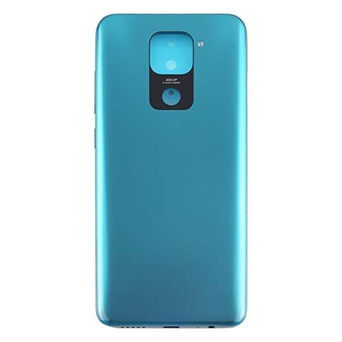 Tangyongjiao Accesorios para Celular Batería Cubierta Posterior for Xiaomi redmi Nota 9 / redmi 10X 4G (Color : Green)