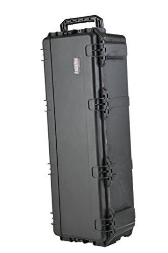 SKB 3i-4213-12BE - Estuche para equipo de DJ, 108 x 33 x 30,5 cm (resistente al agua), color negro
