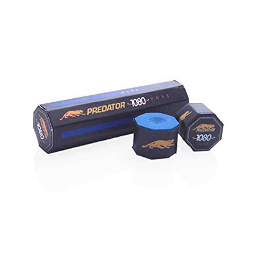 Predator 1080 Pure - Tiza para taco de billar (5 unidades)