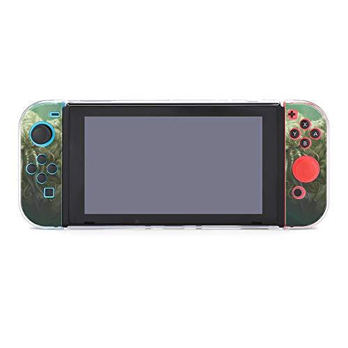 Patrones Art Deco, fondos dorados, sin costuras, compatibles con consola Nintendo Switch y funda protectora Joy-Con, duradero, flexible, absorción de golpes, antiarañazos, diseño de gotas26811