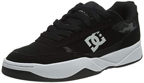 DC Shoes Penza, Zapatillas para Hombre, Black/Black/Grey, 38 EU