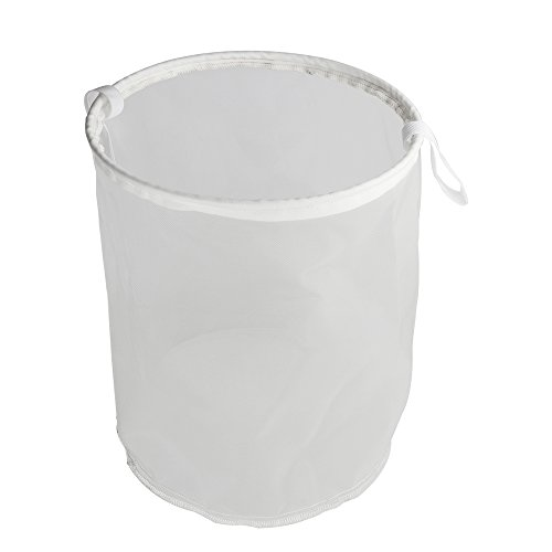 Filter Bag,MRbrew Food Grade Beer Homebrew 30 Mash Bag for Nut Hops Tea Brewing Food Filtration House Homebrew Wine Beer Making Bar Tool (24x35cm)