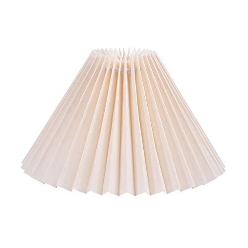 Baoblaze Lampe Schatten, Tuch Kleine Lampenschirm für Tisch Lampe und Boden Licht, Natürliche Leinen Hand Gefertigt - Beige_28cm