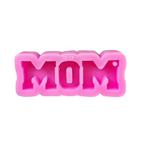 Gallity Silicone Letter Mold Mother's Day Cake Mold Chocolate Silicone Baking Mold Letters Silicone Fondant Mold Handmade Soap Mold Biscuit Candy Mold Ice Cube Tray for Cake Decor