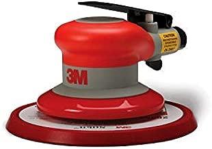"3M Random Orbital Sander – Pneumatic Palm Sander – 6"" x 5/16"" Diam. Orbit – Stikit Disc Pad – For Wood, Composites, Metal – Original Series"