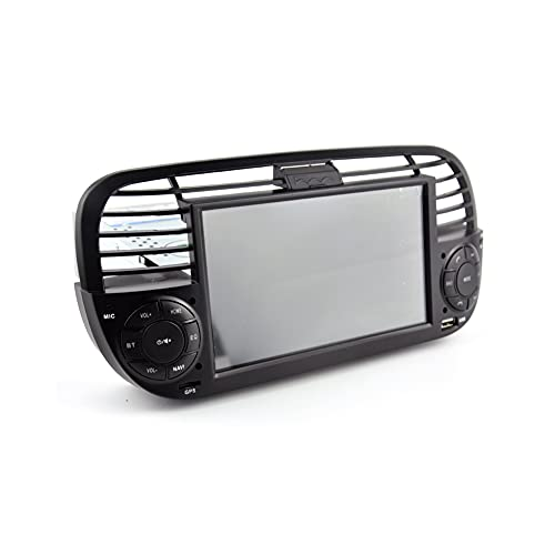 Android 11 Quad Core Car DVD Media Player FOR FIAT 500 Radio Multimedia Buit in DPS Car GPS Navigation