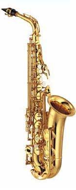 Vergoldetes Yamaha-YAS275-Alto-Saxophon