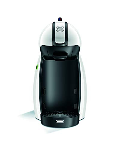 De'Longhi EDG 100.W | NESCAFÉ Dolce Gusto Piccolo | Kapsel Kaffeemaschine |15 bar Pumpendruck für samtige Crema | Manuelle Wasserdosierung | 0,6 l Wassertank | Farbe Weiß
