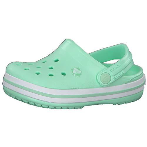 Crocs Kinder Sandale Crocband Clog K 204537 Neo Mint 38-39