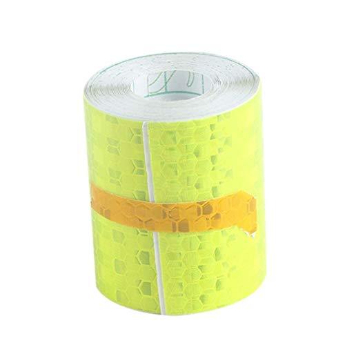 Groenen Super Reflecterende Lijm Strips Waarschuwing Tape Auto Opvallende Stickers