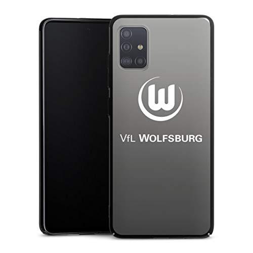 DeinDesign Hülle kompatibel mit Samsung Galaxy A51 Handyhülle Case Offizielles Lizenzprodukt VFL Wolfsburg Logo