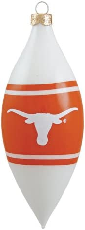 NCAA Texas Longhorns 3 Piece Glass Tear Drop Ornament Set product image