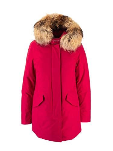 WOOLRICH Luxury Fashion Donna WWCPS2762UT0001MAG Rosso Altri Materiali Giacca Outerwear | Autunno-Inverno 19