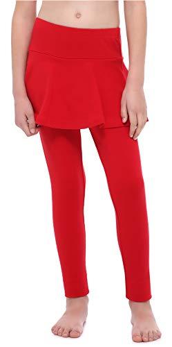 Merry Style Leggings Mallas Largas con Falda Niña MS10-254