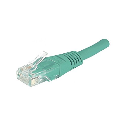 CUC Exertis Connect 853924 - Cable de Red (2 m, Cat5e, U/UTP (UTP), RJ-45, RJ-45, Verde)