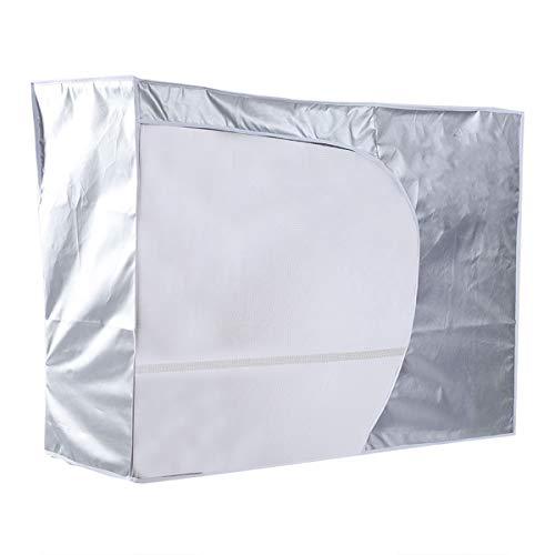 Haokaini Outdoor-Klimaanlage Abdeckung Anti-Staub-Anti-Schnee Wasserdicht Sunproof für Home Office
