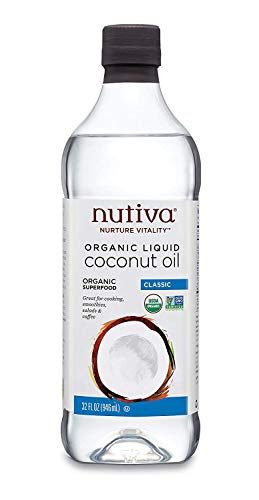 Organic Unrefined Liquid Coconut Oil