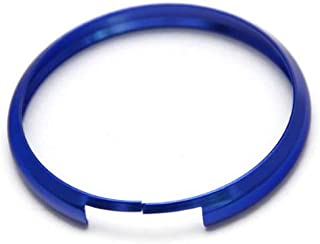 iJDMTOY Blue Finish Smart Key Fob Replacement Ring for 08-up Mini Cooper JCW R55 R56 R57 R58 R59 R60