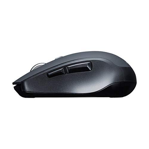 サンワサプライ『静音Bluetooth5.0ブルーLEDマウス(MA-BTBL162BK)』