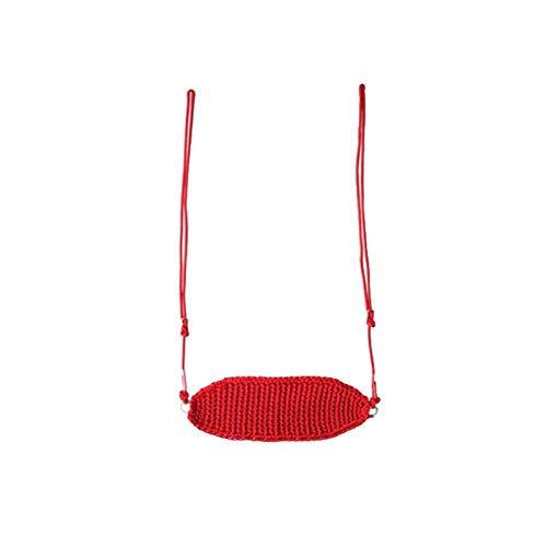 JTKDL Swing, Cuerda Red Swing, Columpios al Aire Libre oscilante para niños