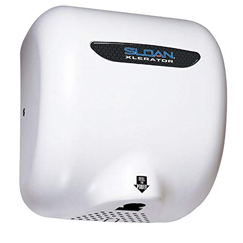 Sloan EHD-502 Wht Optima 220/240 Vac XLerator Automatic Hand Dryer, Surface Mount - Wh