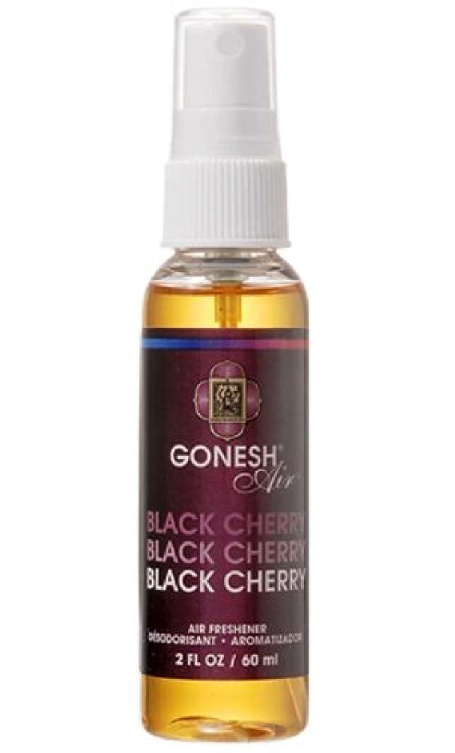 虚弱黒くする項目GONESH エアーフレッシュナー ウォーターベース ブラックチェリー 60ml