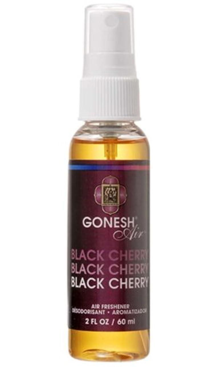 薬を飲む同情的損失GONESH エアーフレッシュナー ウォーターベース ブラックチェリー 60ml