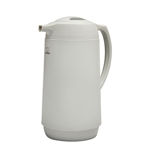 Zojirushi Thermokaraffe, hergestellt in Japan, 1,0 l, Weiß
