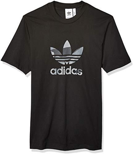 adidas Originals Herren Camo Infill Tee T-Shirt, schwarz, Klein