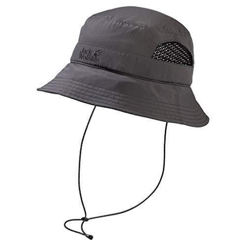 Jack Wolfskin Supplex Vent Bucket Stirnband dark steel L