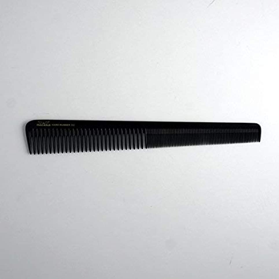 あえぎ程度無知7in, Hard Rubber, Barber Comb with Extra Fine Teeth [並行輸入品]