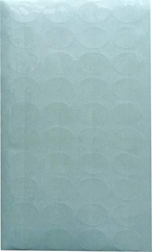 封印シール 透明 楕円 業務用封印シール 200枚【5シート入(1シートに40枚)】ブランド品 日本製