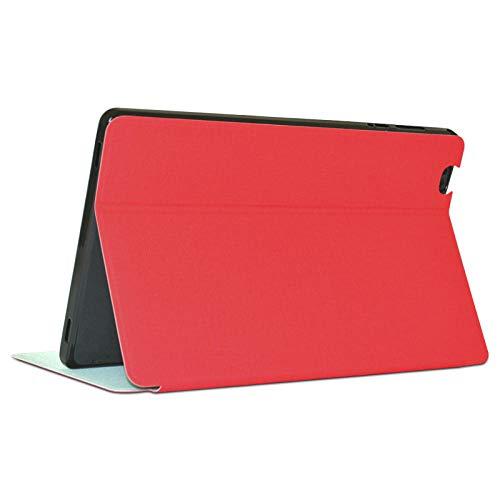 Beschermhoes voor Teclast P10S 2019 tablet-houder, beschermhoes voor Teclast P10HD 10,1 inch, tablet-pc Style1 - QCK-Rouge